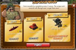 Survival Mode 4.0 Rewards