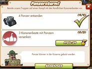 Panzersturm (German Mission Text)