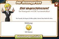 Der Rosengarten Belohnung (German Reward text)