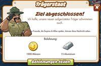 Trägerstaat Belohnung (German Reward text)