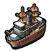 Goal Vintage Battleship