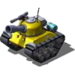 Sherman Tank Yellow