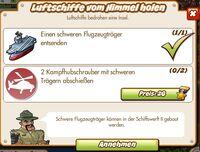 Luftschiffe vom Himmel holen (German Mission text)