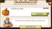 3 2 1 Start (German Mission text)
