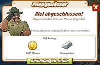 Fließgewässer Belohnung (German Reward text)
