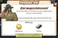 Torpedos los! Belohnung (German Reward text)