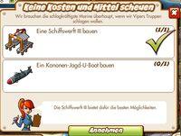 Keine Kosten und Mittel scheuen (German Mission text)