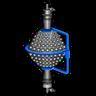 Uranium Fusion Reactor Blue