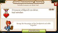 Unwillkommener Besuch (German)