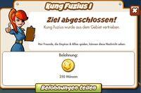 Kung Fuzius I Belohnung (German Reward text)