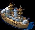 Vintage Battleship Back