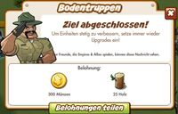 Bodentruppen Belohnung (German Reward text)