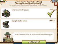 Spitzentechnologie (German Mission text)