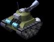 Sherman Tank Back