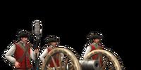 12-lber Howitzer Foot Artillery