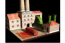 Steam-Powered Cloth Mill