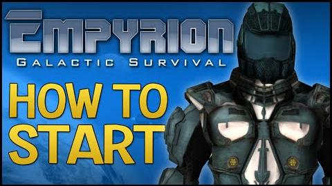 Empyrion Galactic Survival - Getting Started Tutorial - How To Craft, Build a Base & Fill Oxygen!