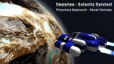 Empyrion - Planetary Approach (Uncut Footage)