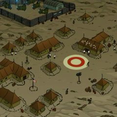 Army camp on Spheron I