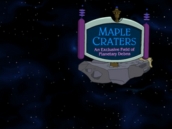 MapleCraters
