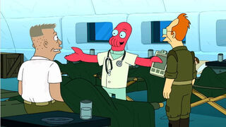 Young zoidberg and professor
