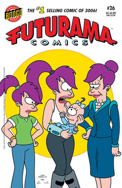 Futurama-26-Cover