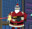 Santa Claus is Gunning You Down