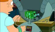 Bender runs on AMD