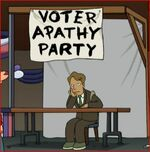 Voter Apathy Party