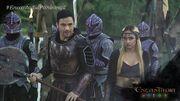 Asval and Andora prepare for the attack