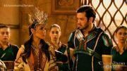 Muros informs Danaya of Encantadia's progress