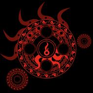 Fire Magic Circle