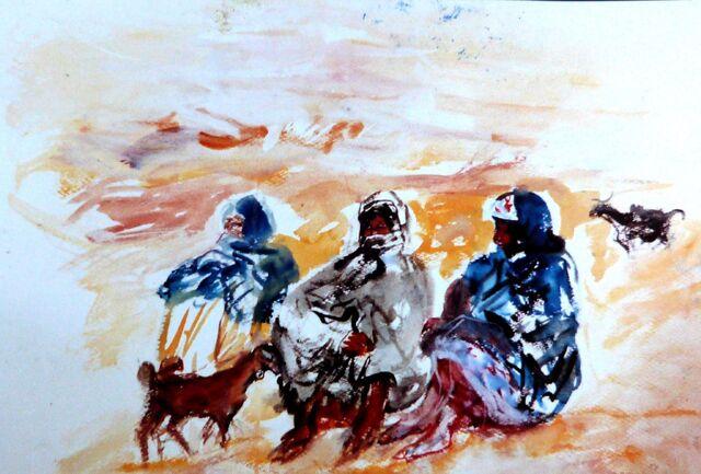 Archivo:Trabajos en directo durante de los viajes por Argelia - Tamanraset-Janet-Biskra-Gerdaya-Argel - 1979.jpg