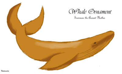 Whale Ornament (Drawing)