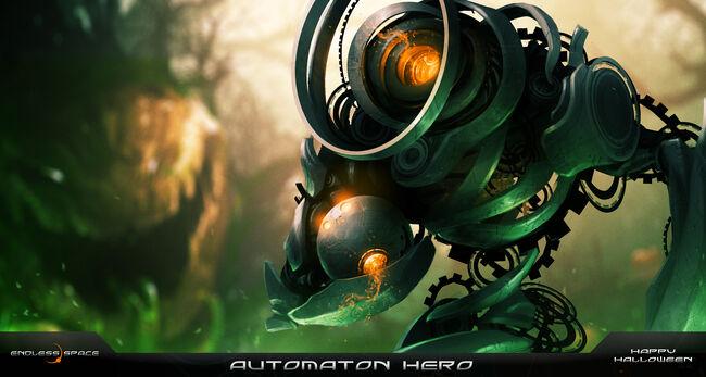 Automaton Hero Halloween