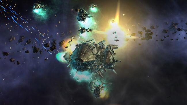 Endless Space - Amoeba Battle RGB