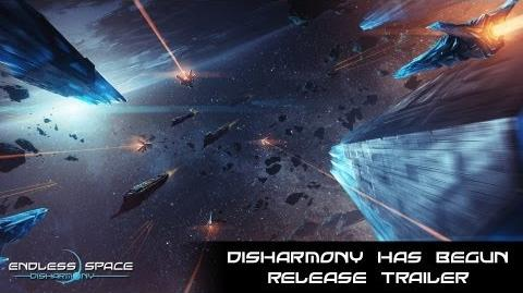 Endless Space - DISHARMONY HAS BEGUN Release Trailer