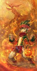 Monkey Pyromancer