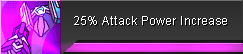 Attack Power Increase