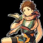 (Straightforward Ninja) Mitsuru Tenma Full Render Bloomed