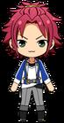 Mao Isara academy idol uniform chibi