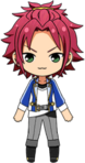 Mao Isara academy idol uniform chibi