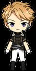 Arashi Narukami Duel Uniform chibi