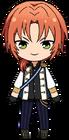 Leo Tsukinaga knights uniform chibi