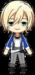 Eichi Tenshouin academy idol uniform chibi