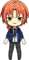 Leo Tsukinaga Summer uniform chibi