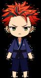 Kuro Kiryu Martial Arts chibi