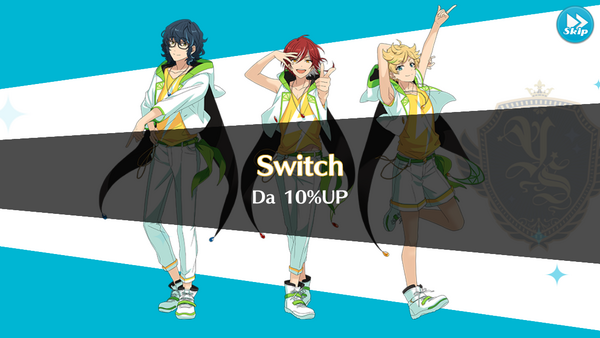 Switch 10% Up