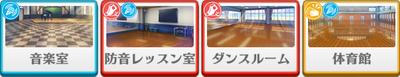 3-B lesson Kanata Shinkai locations