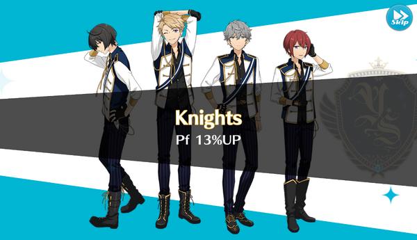 Knights 13% Up